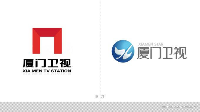 厦门卫视改版并启用新LOGO设计 -苏州广告设计 苏州广告公司 苏州画